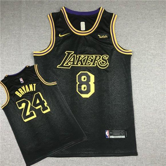 Shirts | Mens Lakers 24 Kobe Black Mamba Jersey 8 24 | Poshmark